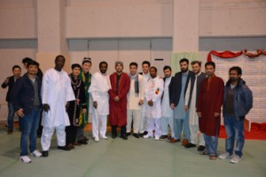 Members of the IUJ MSA at a recent campus culture festival.