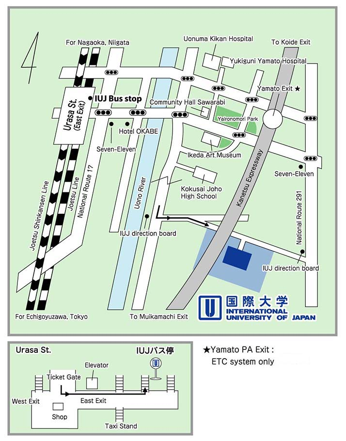 Campus International University Of Japan